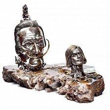 Серебряная композиция Дали - Сафронов