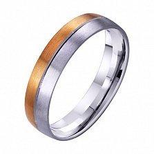 Золотое обручальное кольцо Нежное чувство