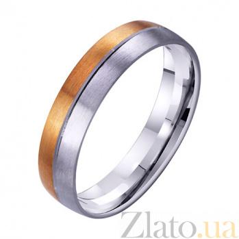 Золотое обручальное кольцо Нежное чувство TRF--4411732