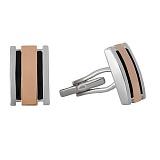 Серебряные запонки Виконт BGS--67 в интернет магазине Злато