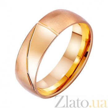 Золотое обручальное кольцо Геометрическая нежность TRF--4111472