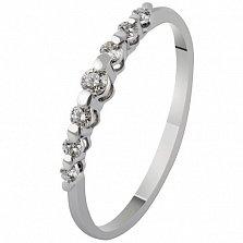 Золотое кольцо с бриллиантами Джульетта