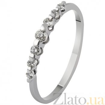 Золотое кольцо с бриллиантами Джульетта KBL--К1885/бел/брил
