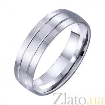 Золотое обручальное кольцо Счастливый причал TRF--4211729