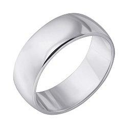 Серебряное обручальное кольцо 000121298