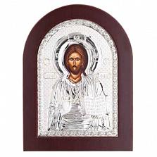 Иисус Христос серебряная икона