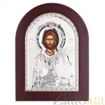 Иисус Христос серебряная икона AQA--MA/E1107B