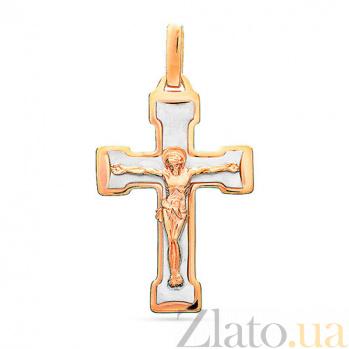 Золотой крестик Победитель SUF--501605кбм