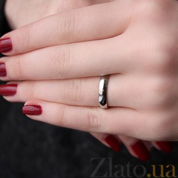 Обручальное кольцо из платины Классика, ширина 4 мм 09100200
