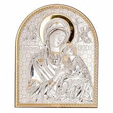 Икона Божьей Матери Страстная позолоченная