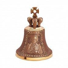 Именной бронзовый колокольчик Св. Николай