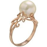 Золотое кольцо Лето с жемчугом