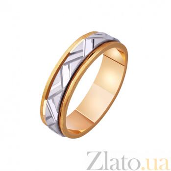 Золотое обручальное кольцо Королевская страсть TRF--4411128