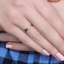 Золотое кольцо Наина с бриллиантом