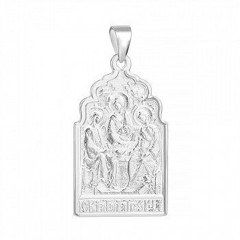 Серебряная ладанка Святая Троица 000039617