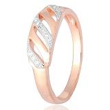 Серебряное кольцо с цирконием Элира
