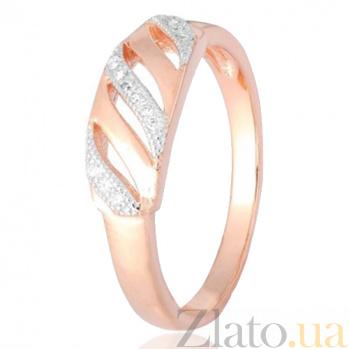 Серебряное кольцо с цирконием Элира 000028392