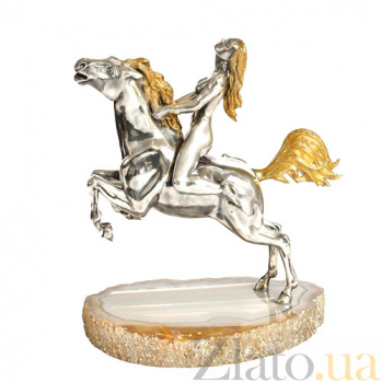 Серебряная статуэтка Всадница 1640-1