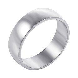 Обручальное кольцо из белого золота 000000307