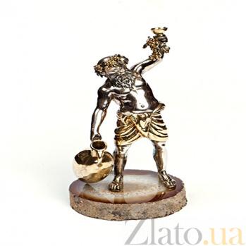 Серебряная статуэтка Бахус 685