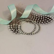 Серебряные серьги Ольвина