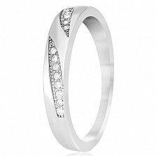 Кольцо из серебра Фаина с цирконием