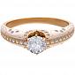 Помолвочное кольцо Рожденные для счастья с бриллиантами PRT--RE00777D