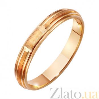Золотое обручальное кольцо Взаимная страсть TRF--4111243