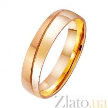 Золотое обручальное кольцо Вкус вечности TRF--411739
