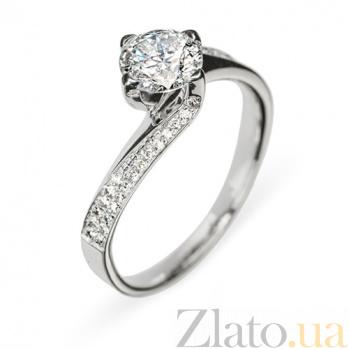 Кольцо из белого золота с бриллиантами Доротея R0144
