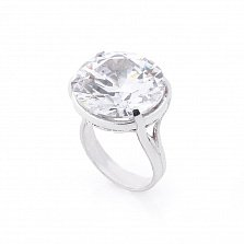 Серебряное кольцо Михайлина с фианитом