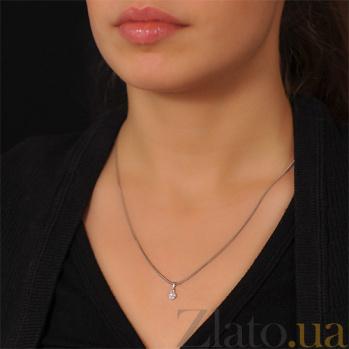 Кулон из золота Соблазн с бриллиантами EDM--П7476/1