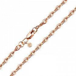 Золотой браслет в свободном плетении, 4мм 000095130