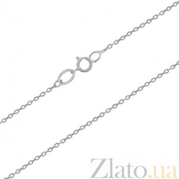 Серебряная цепочка родированная Анталия 000030689