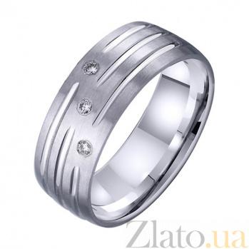 Золотое обручальное кольцо Вместе на века TRF--4221709