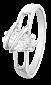 Кольцо из серебра с фианитом Рутендо 000025711
