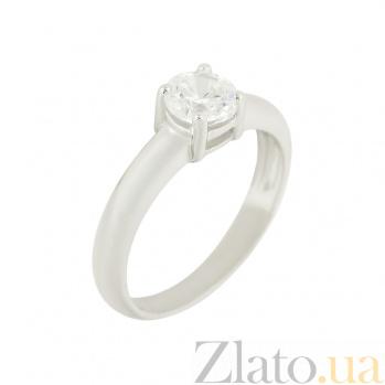 Серебряное кольцо с цирконием Ярина 3К114-0076