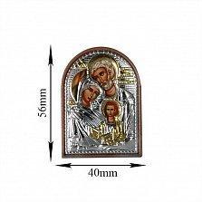 Икона Святое семейство, 40х56мм
