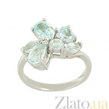 Серебряное кольцо с топазами Дакота 3К846-0167
