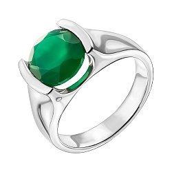 Серебряное кольцо с агатом 000137394