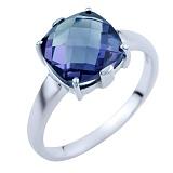 Серебряное кольцо Наина с александритом
