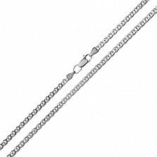 Серебряная цепочка Silver pattern, 3мм
