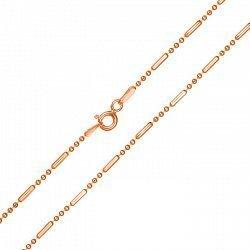 Серебряная цепь с позолотой 000039418