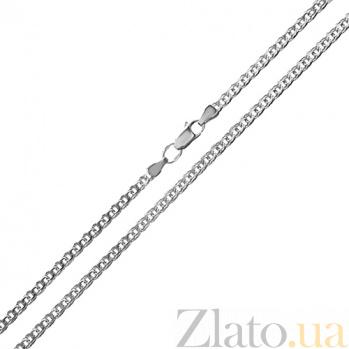 Серебряная цепочка Silver pattern, 3мм TNG--888035С
