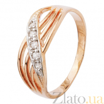 Серебряное кольцо с цирконием Оазис 000025661