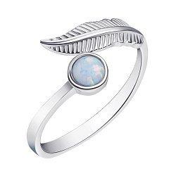 Серебряное кольцо с опалом 000139662