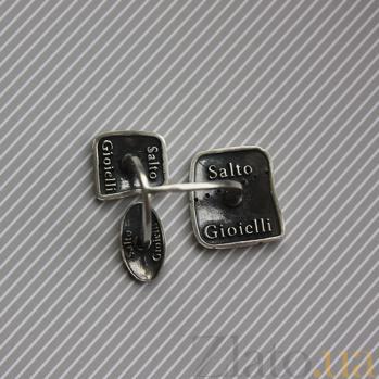 Серебряное кольцо Интрига К1-3 л кв цч
