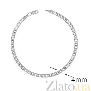 Серебряный браслет Фиорентина,3 мм 000007284