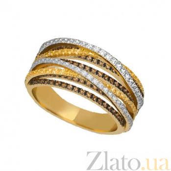 Кольцо из желтого золота с фианитами Наоми VLT--ТТТ1243-1