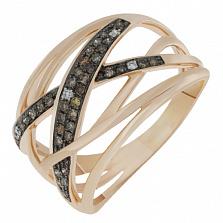 Золотое кольцо Примроуз с бриллиантами